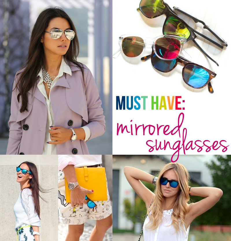 116be2a417 must have  mirrored sunglasses. - Skirt The Rules