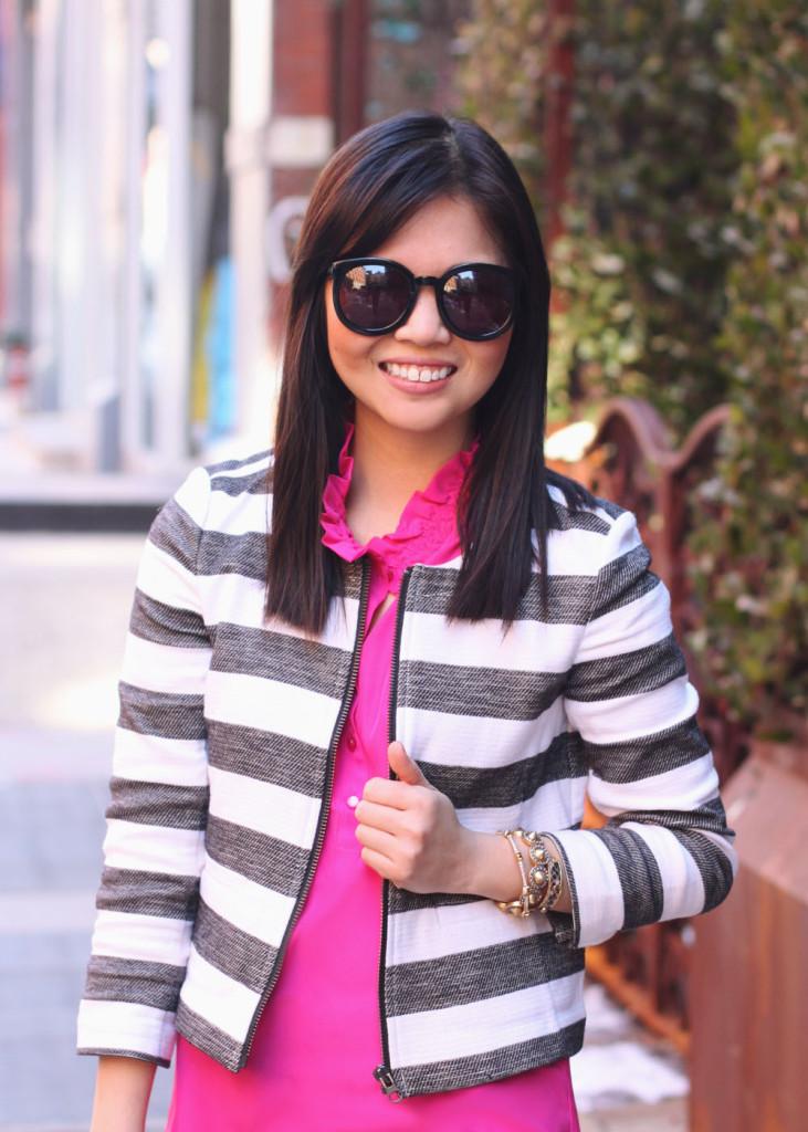 Spring Striped Jacket