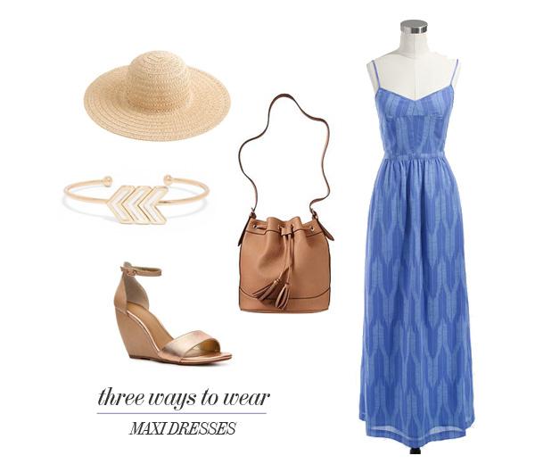 3 Ways to Wear Maxi Dresses