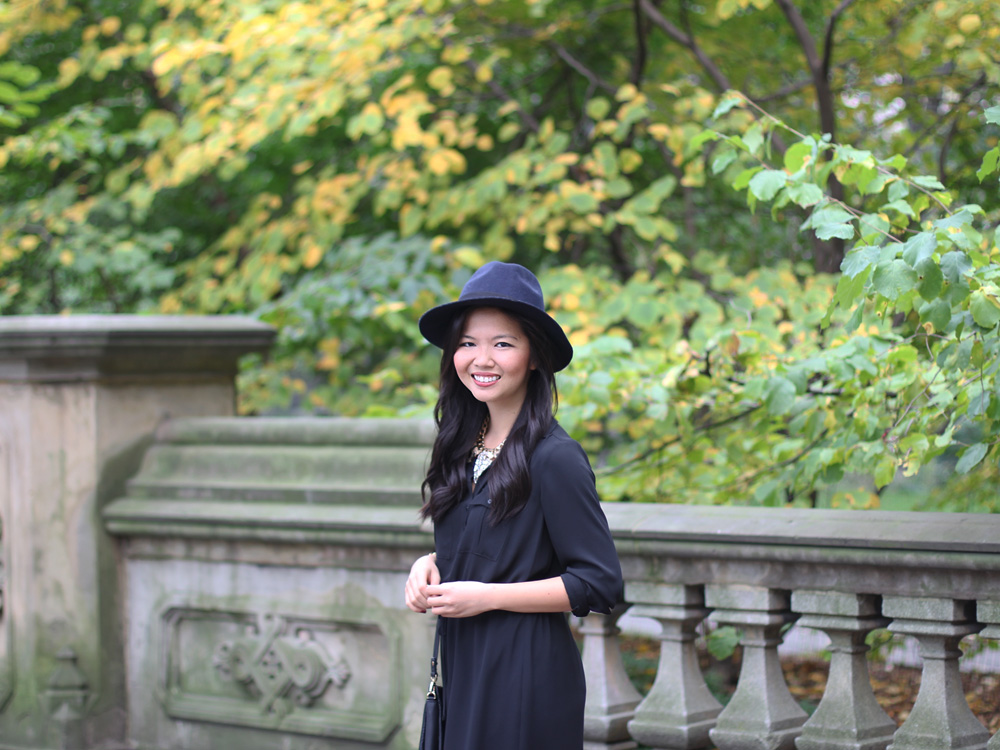 Black & Navy Outfit