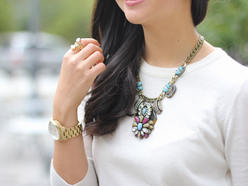 J.Crew Inspired Statement Necklace