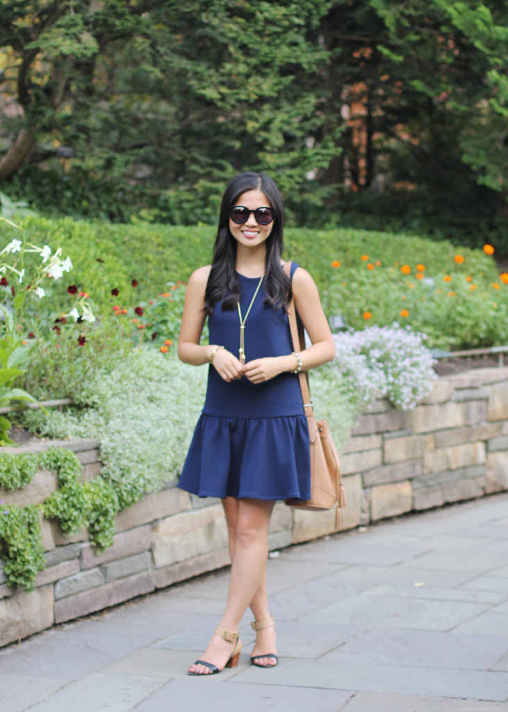 How to Wear a Dropwaist Dress