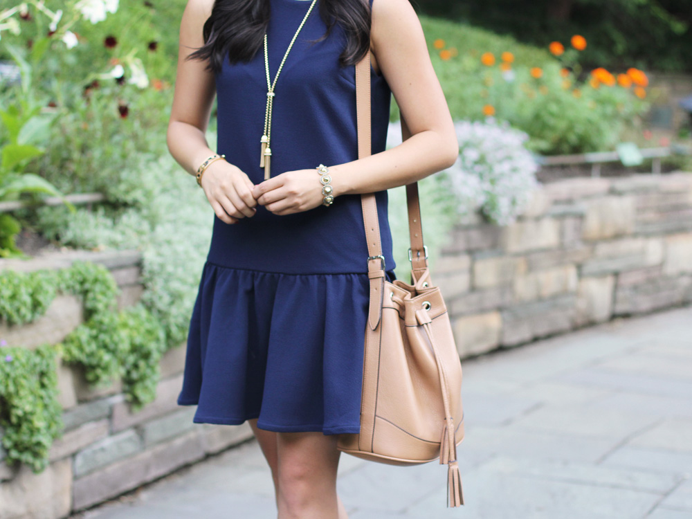Old Navy Tassel Bucket Bag