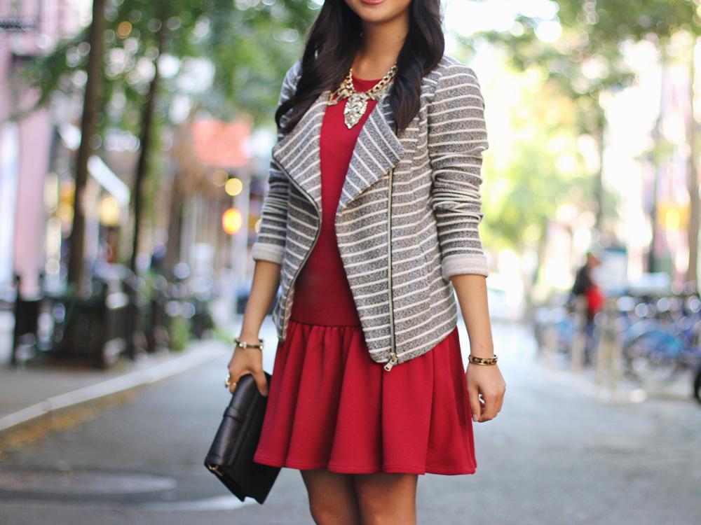 How to Wear a Drop Waist Dress for Fall