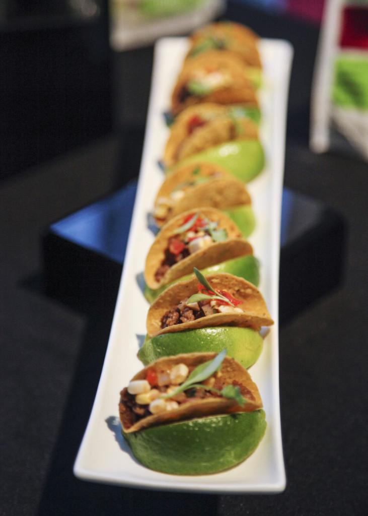 Vegetarian Mini Tacos