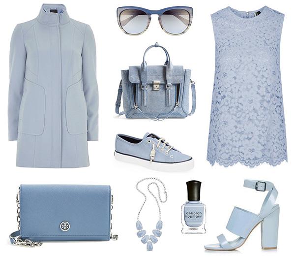 Pantone Colors of Spring 2015:  Dusk Blue