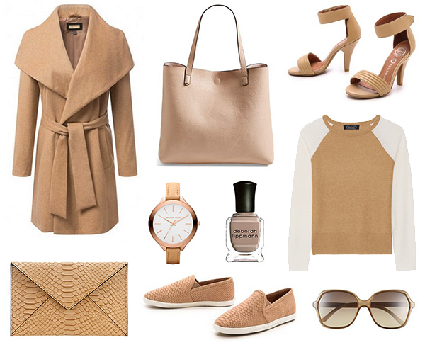 Pantone Colors of Spring 2015:  Toasted Almond