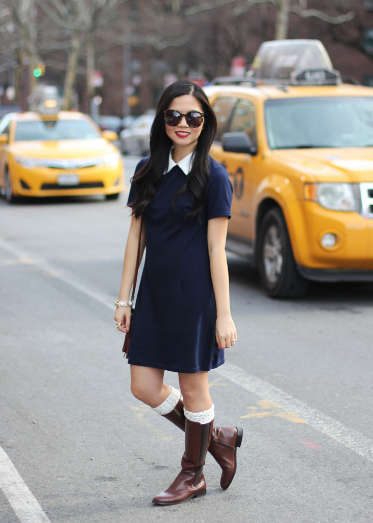 Skirt The Rules // Peter Pan Collar Dress