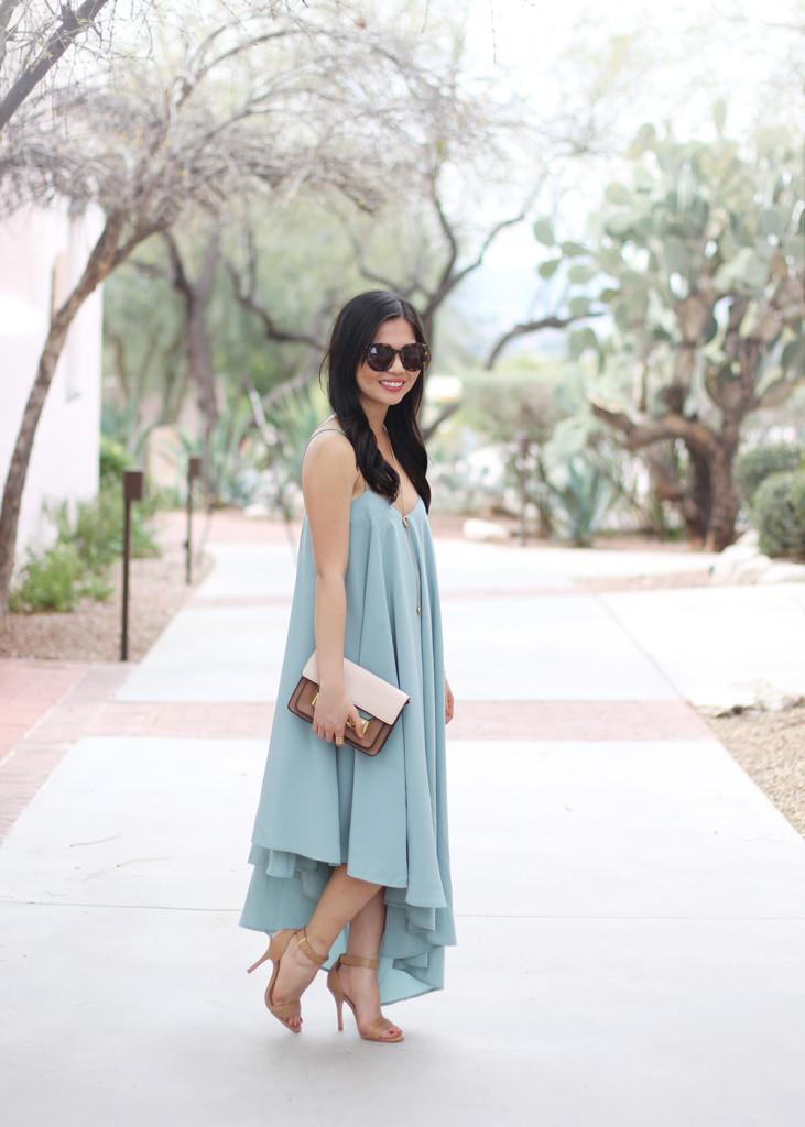 Skirt The Rules // Mint Swing Dress