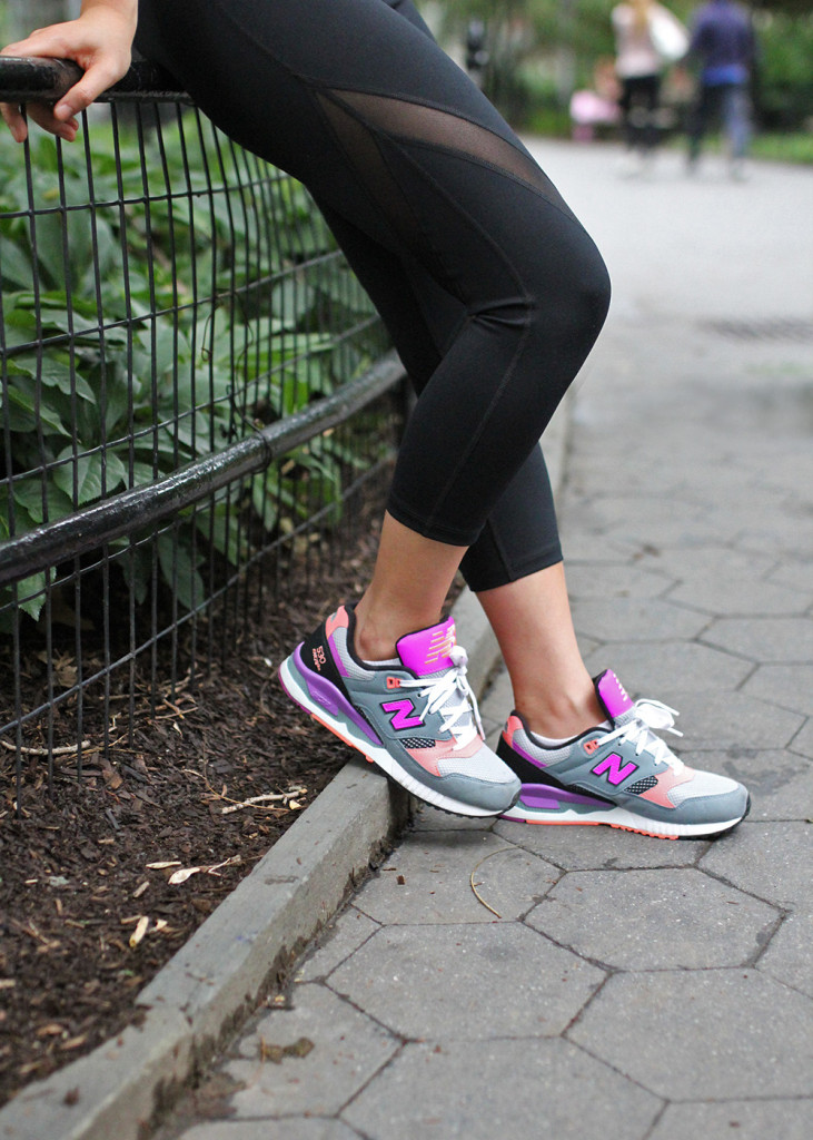Skirt The Rules // New Balance Sneakers