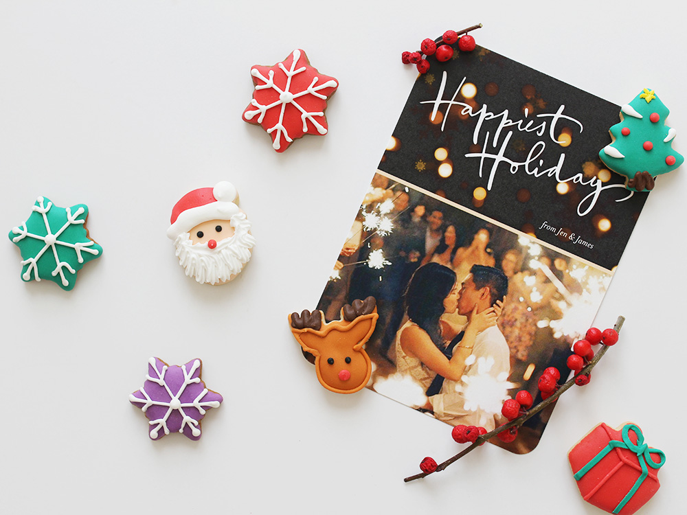 Skirt The Rules // Holiday Greeting Cards