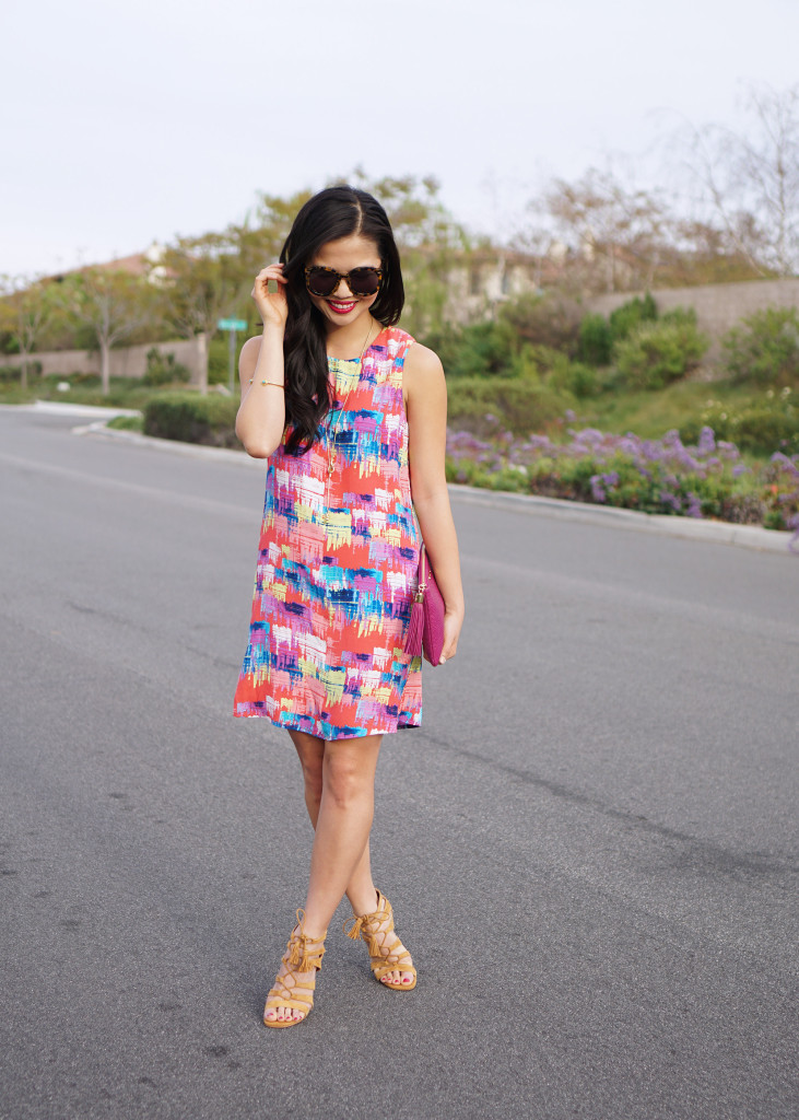 Skirt The Rules / Colorful Printed Shift Dress