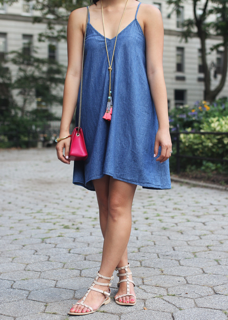 Skirt The Rules / Denim Summer Dress