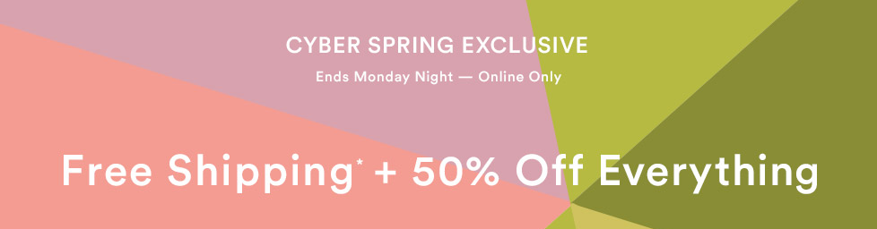 Take 50% off Ann Taylor for Cyber Spring 2017