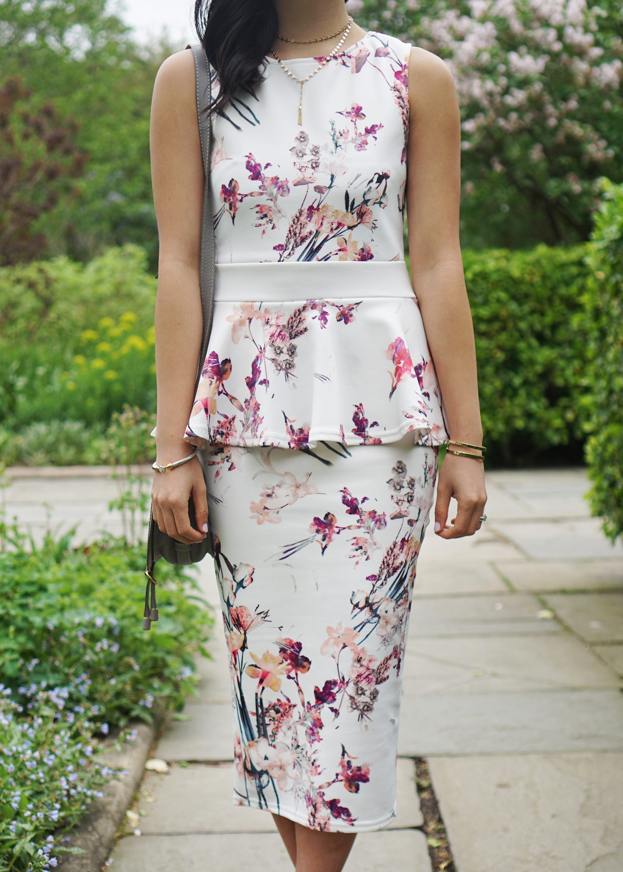 Garden party wedding guest skirt the rules life for Peplum dresses for wedding guest
