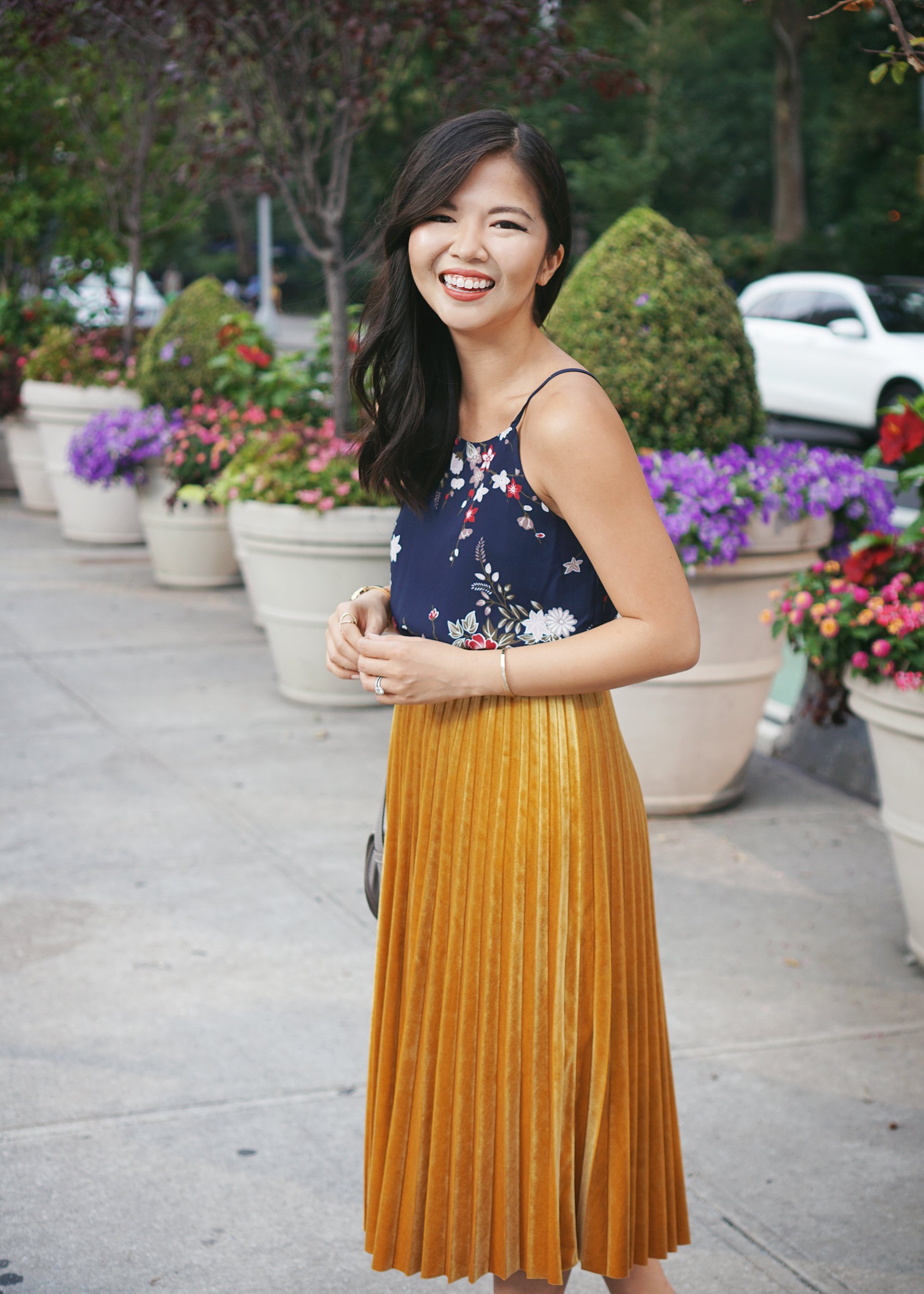How to Wear a Skirt Over a Dress
