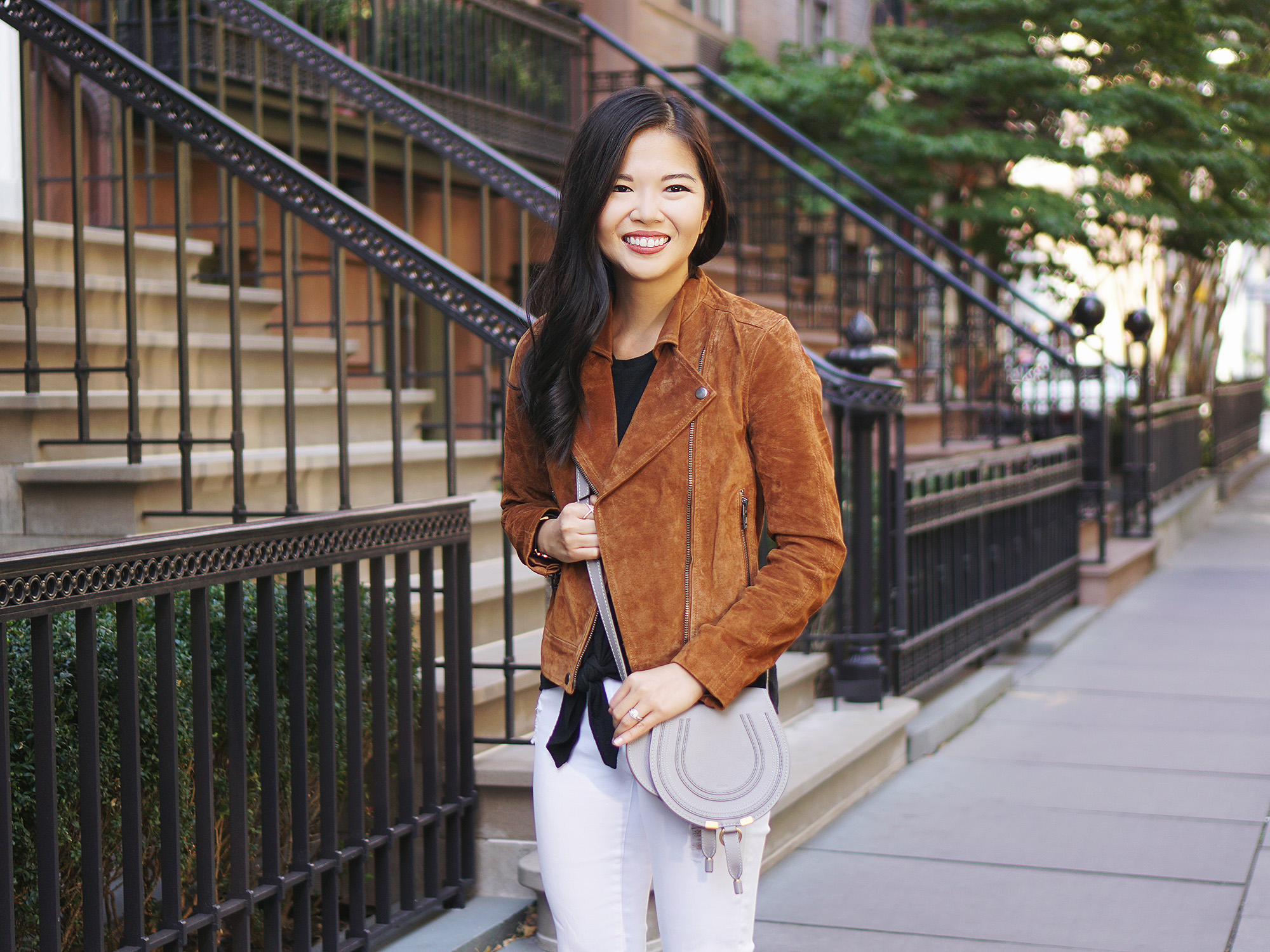 Neutral Fall Outfit Inspiration: Black, Brown and White