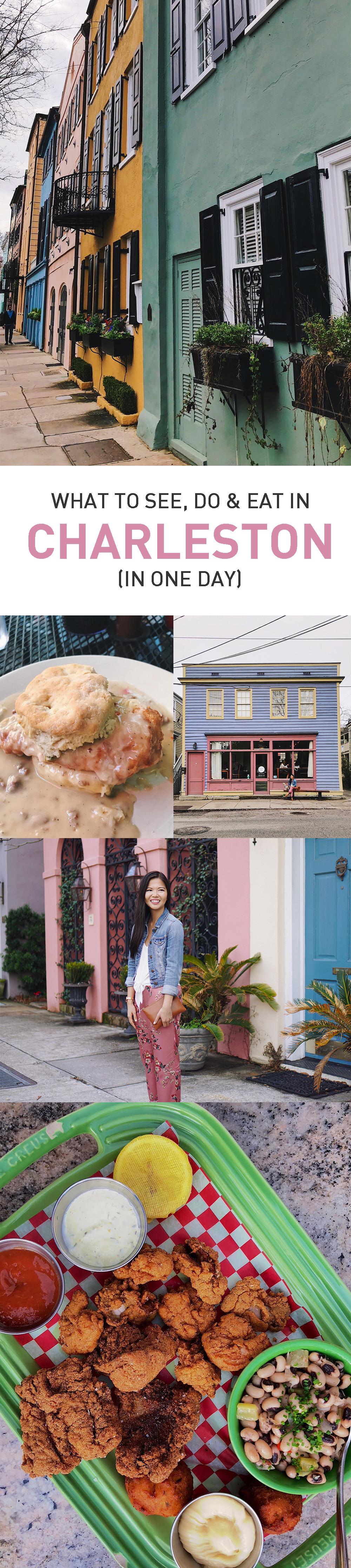 One Day Travel Guide to Charleston, South Carolina