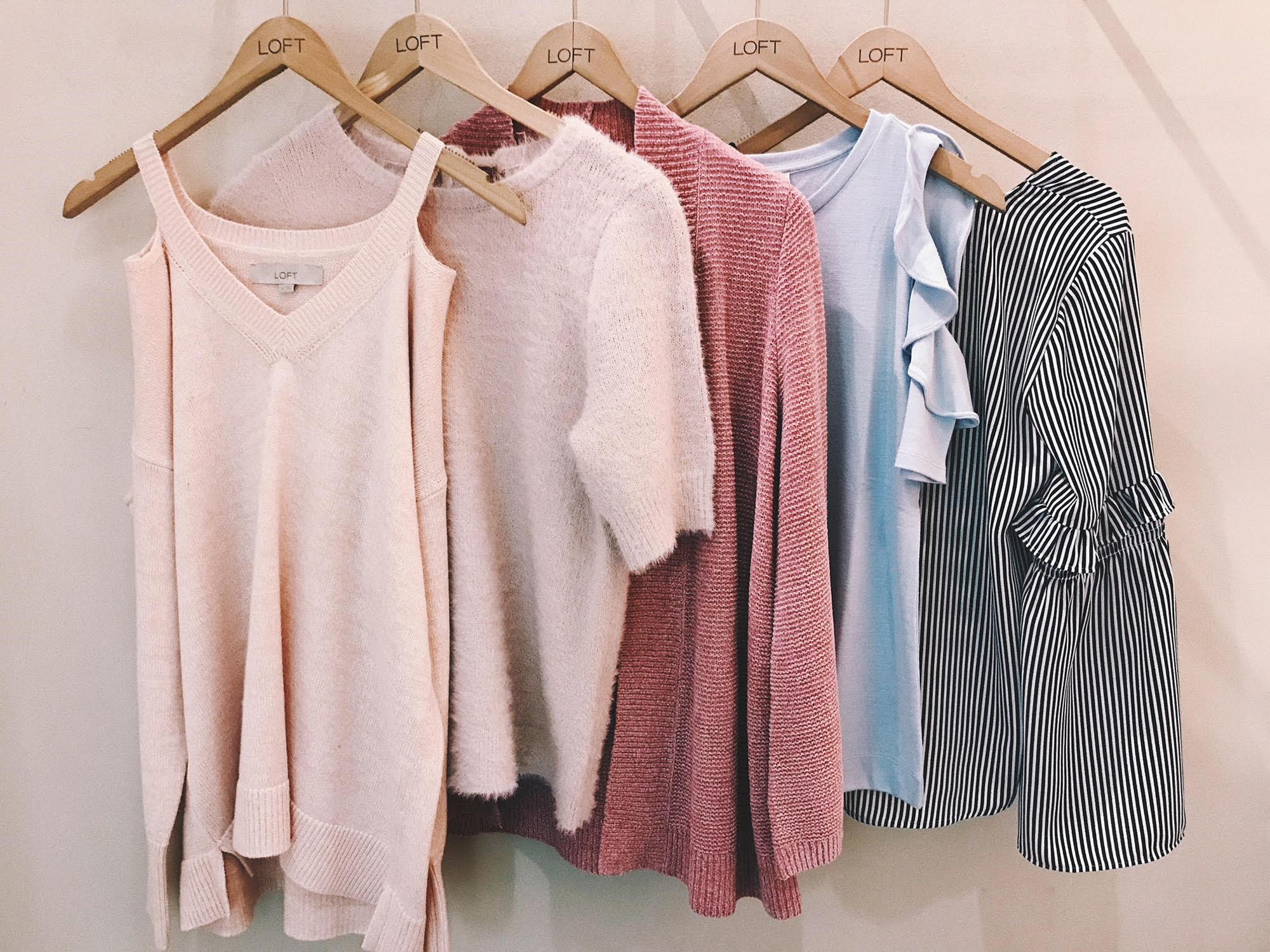 a36409979a5e4 LOFT Dressing Room Try On - February 2018