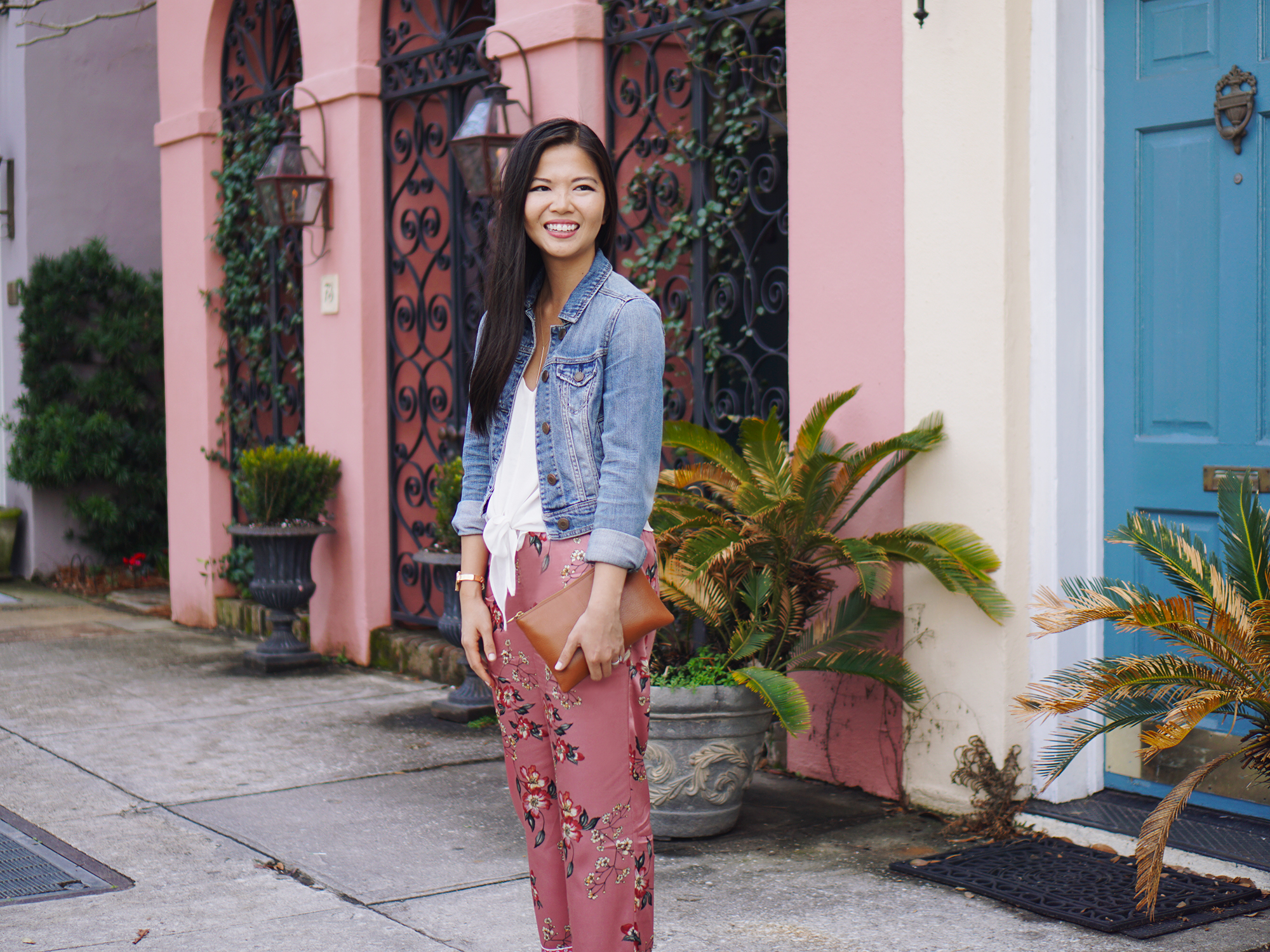 Spring Style: How to Dress Up a Jean Jacket
