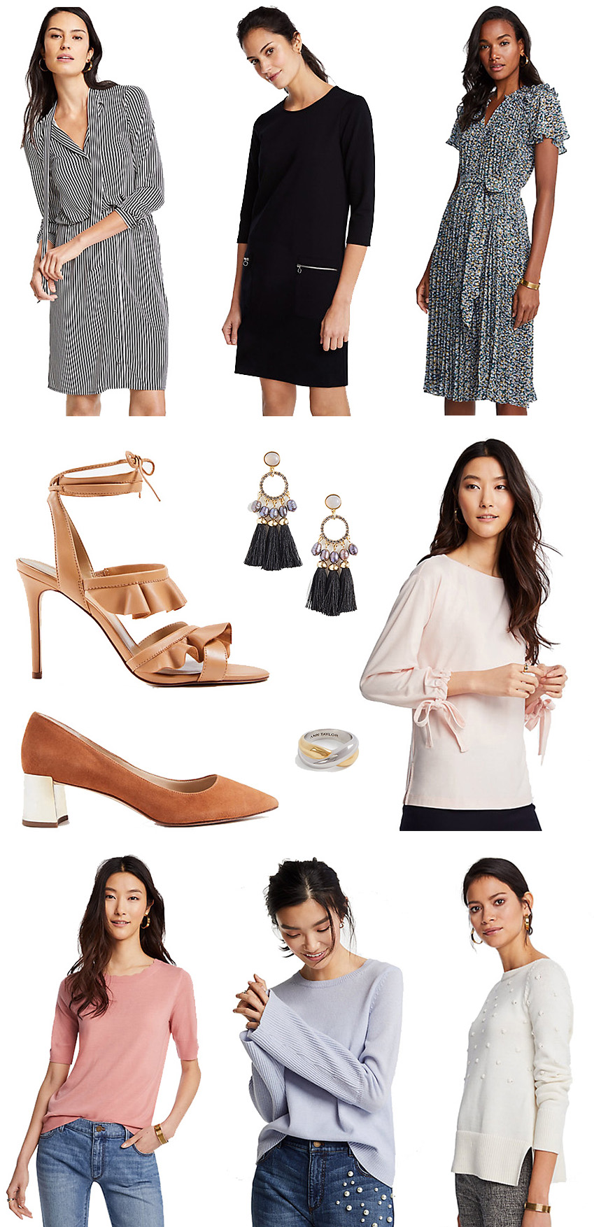 March 2018 Ann Taylor Spring Clothes