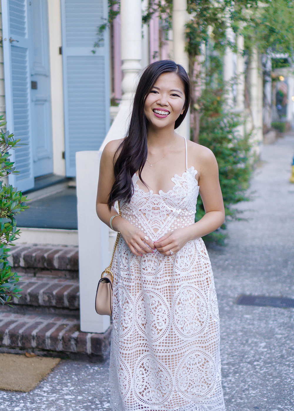 Spring Dress / Little White Lace Dress