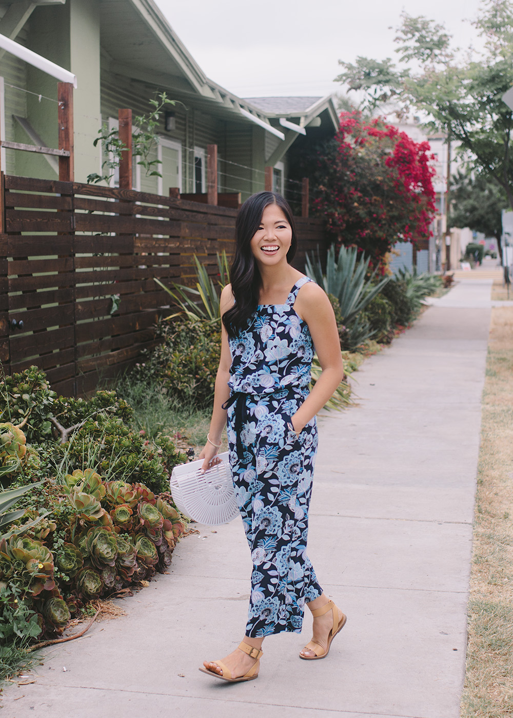 Summer Style Inspiration / Pineapple Print Jumpsuit