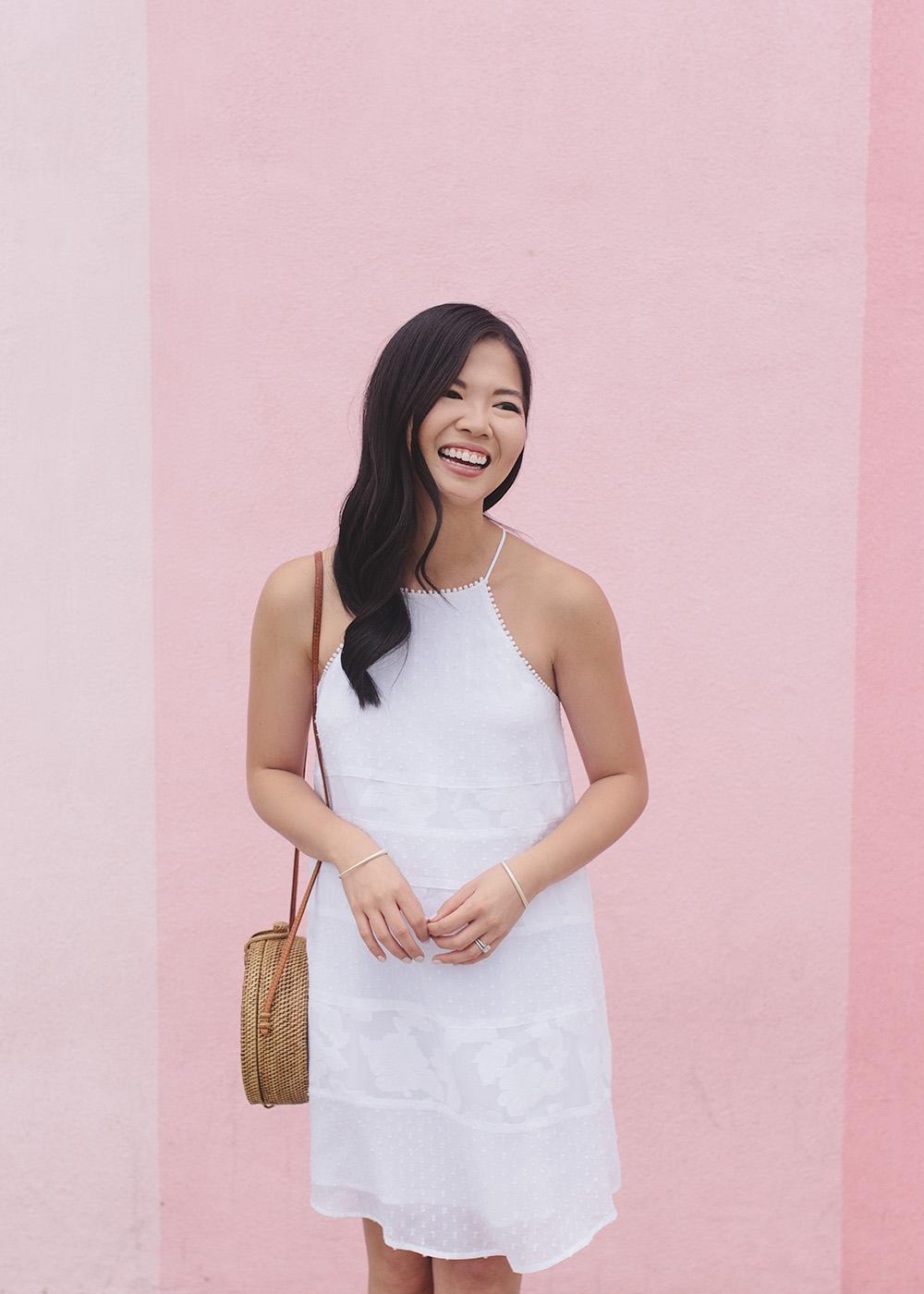 Summer Style Inspiration / White Swing Dress