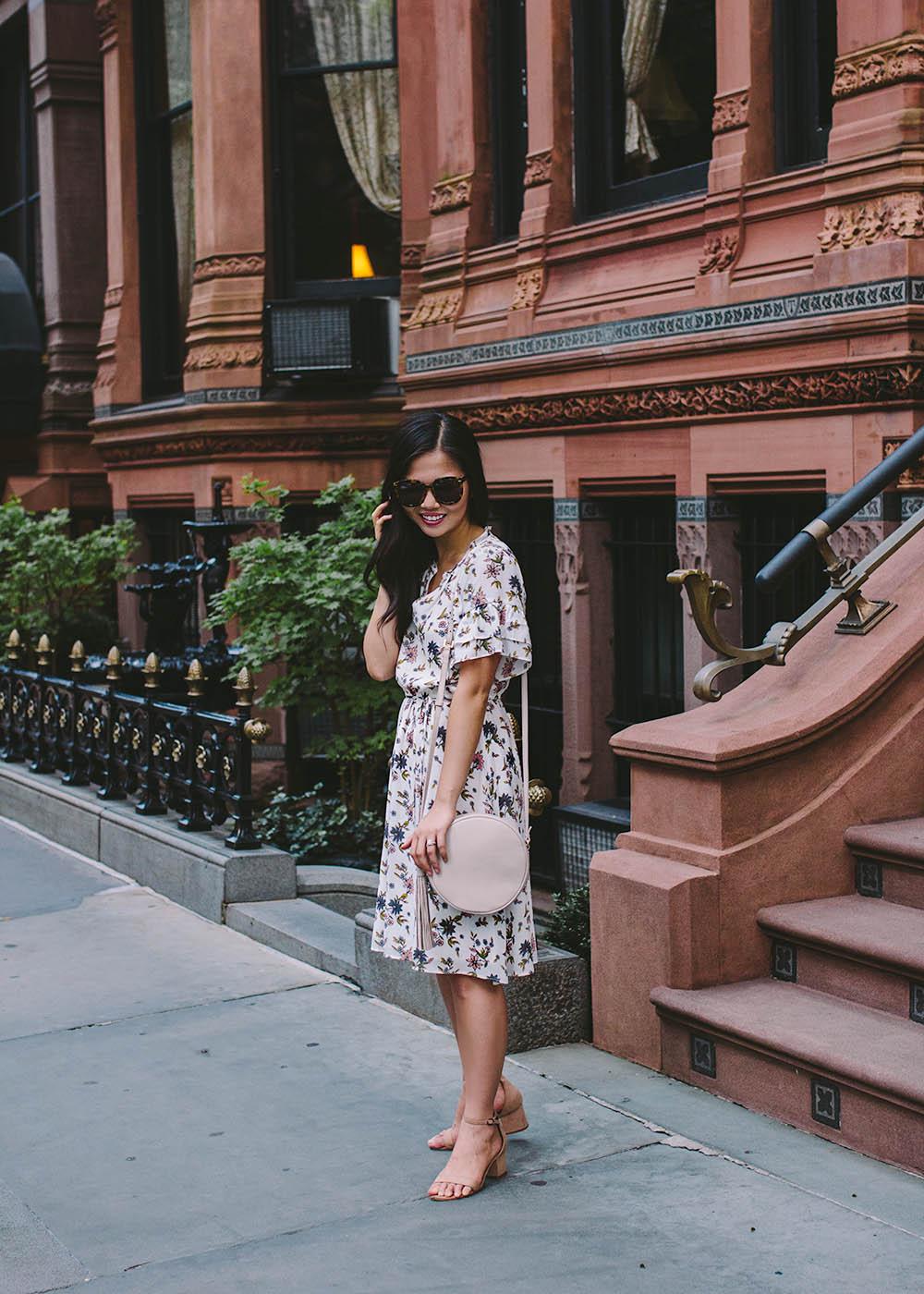 Summer Work Dress / Floral Print