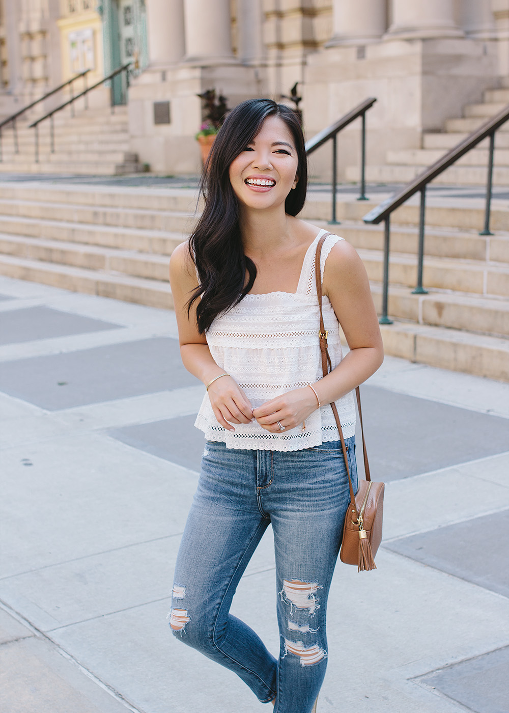 Summer Style Inspiration / Crop Top & Skinny Jeans