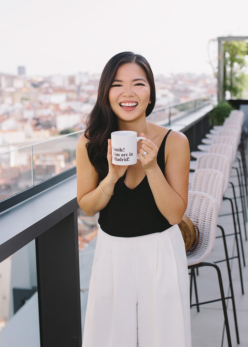 Smile You're in Madrid Mug