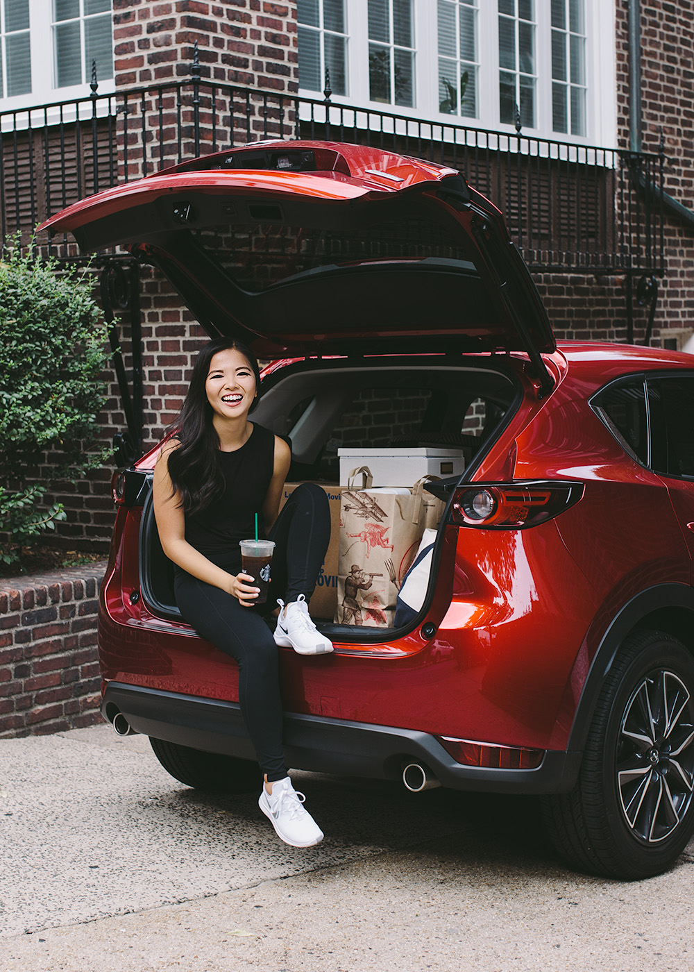 Moving in NYC with Mazda CX-5