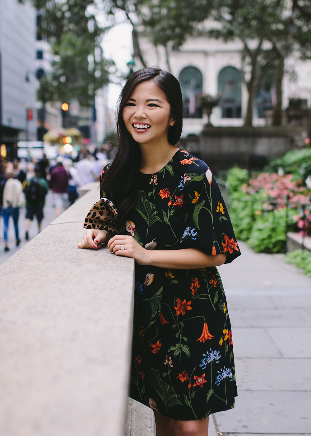 How to Wear Floral Prints for Fall