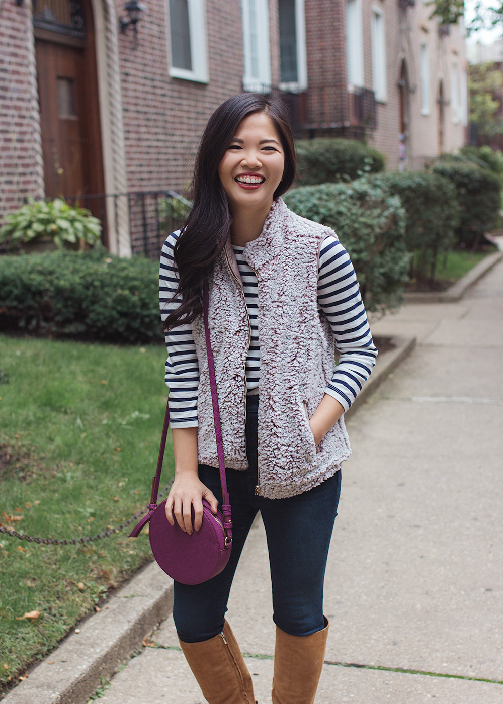 How to Wear a Fleece Vest for Fall