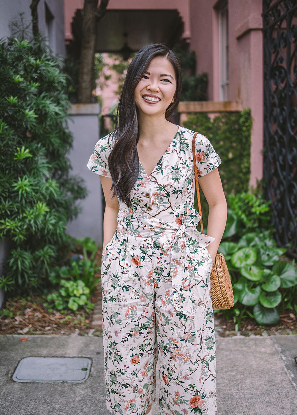 Spring Style / Floral Jumpsuit