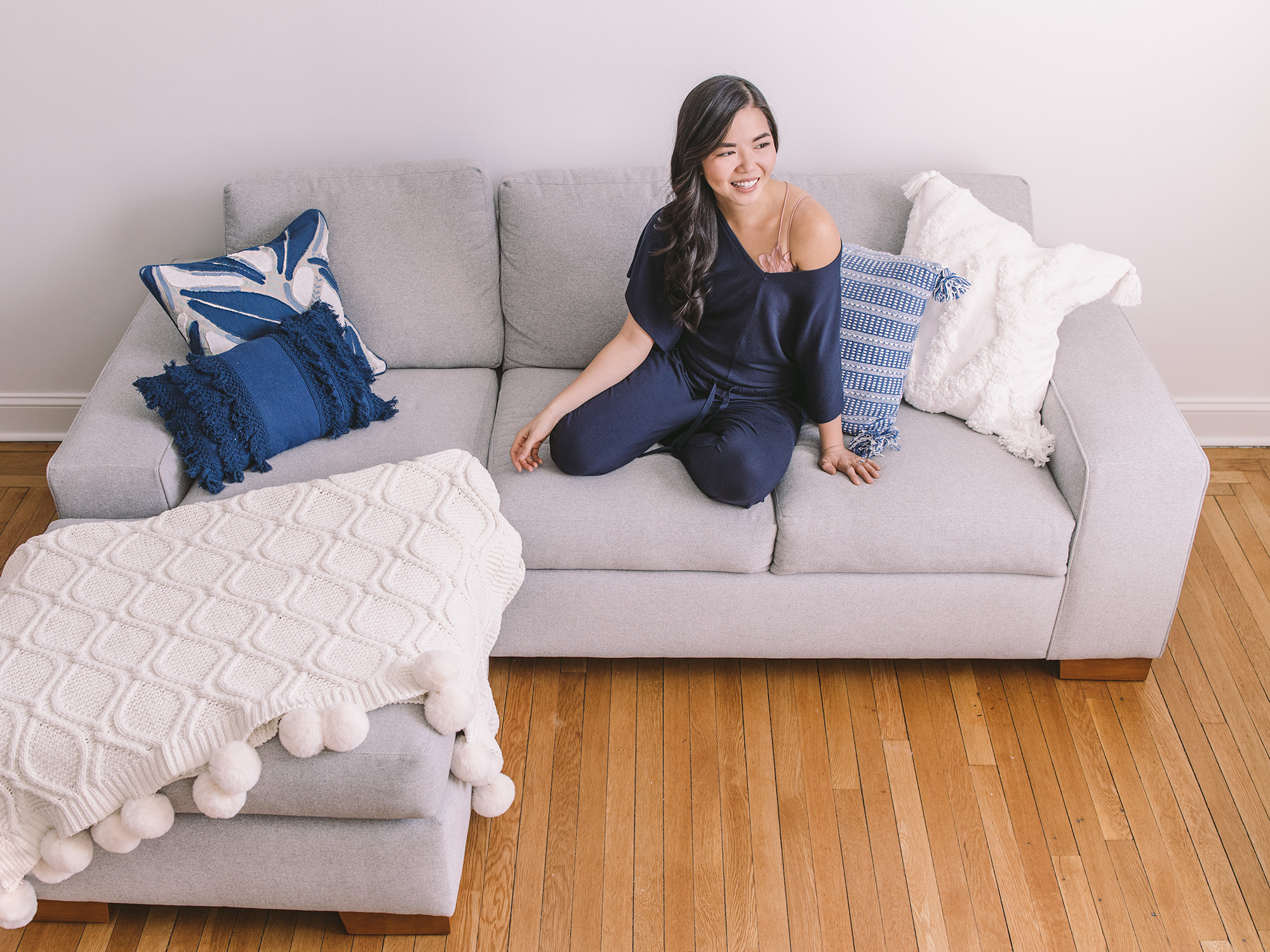 NYC Apartment Style / Sectional Sleeper Sofa