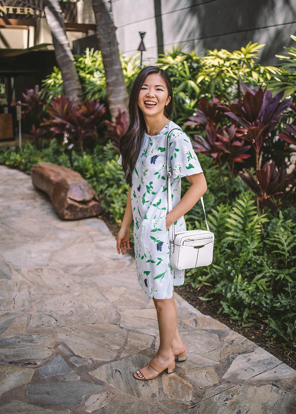 Spring Outfit Idea / Ann Taylor Floral Dress