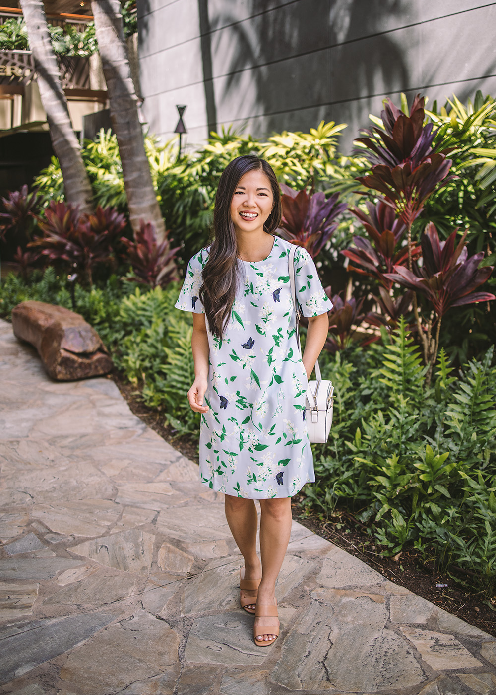 Spring Outfit Idea / Ann Taylor Floral Dress