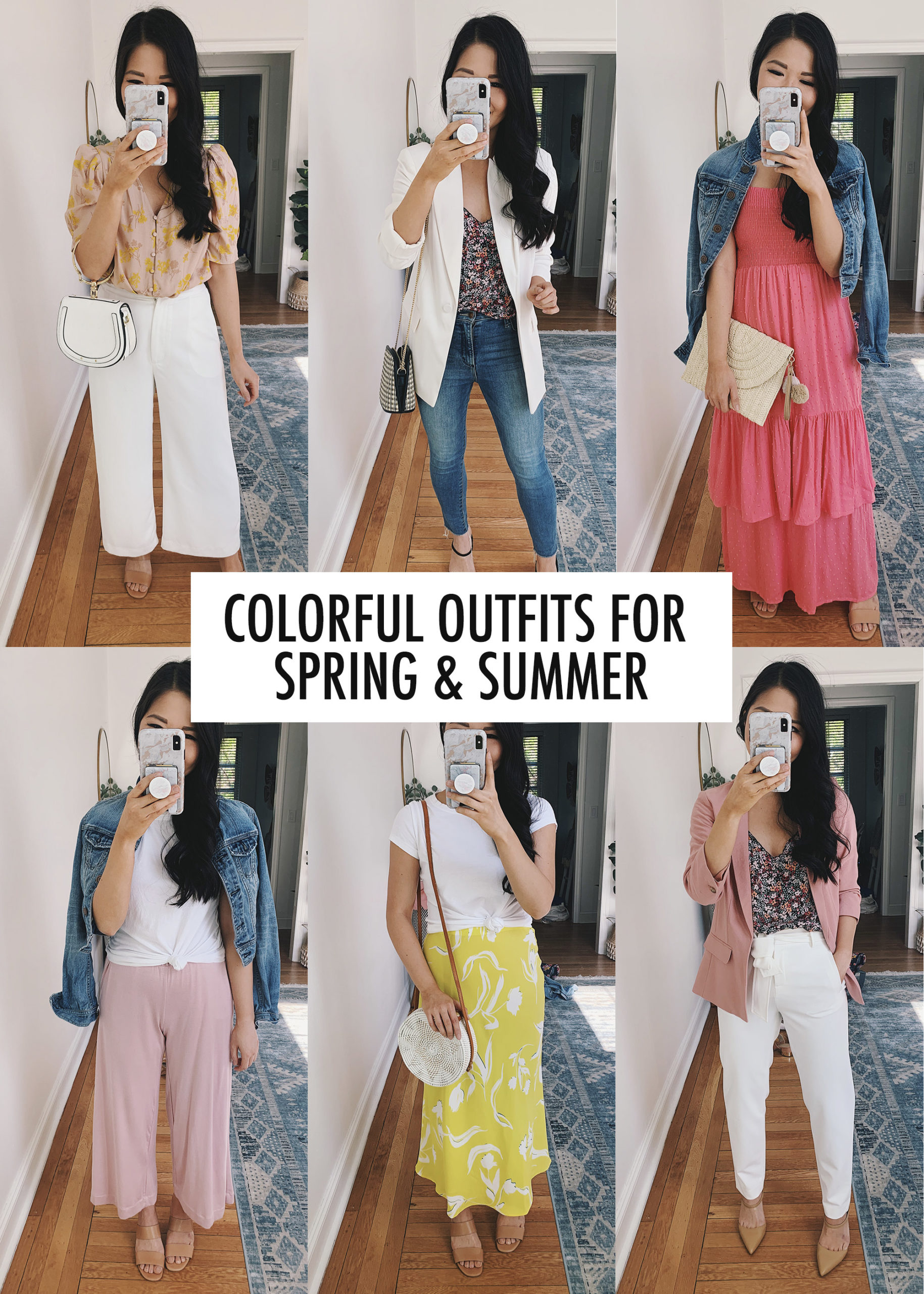 Colorful Outfits for Women: Spring & Summer Style