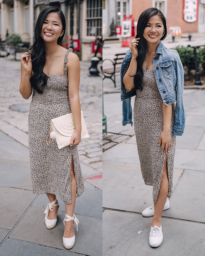 Summer Outfit Ideas for Women: Two Ways to Wear a Leopard Dress